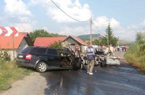 Súlyos baleset történt Székelyudvarhely mellett