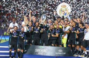 A Real Madridé az Európai Szuperkupa