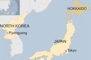Észak-Korea ellõtt egy rakétát Japán felé