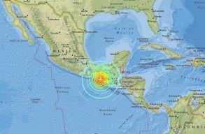 8-as fokozatú földrengés volt Mexikó partjainál