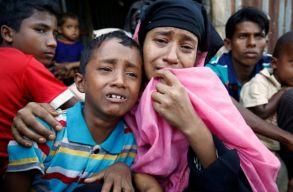 Az ENSZ emberi jogi fõbiztosa szerint etnikai tisztogatás zajlik Mianmarban