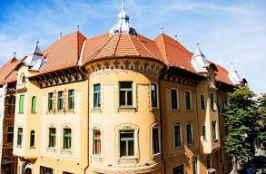 Így újult meg a nagyváradi Stern-palota