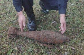Második világháborús gránátokat találtak Gyimesközéplokon