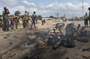 Közel kétszázra emelkedett a szomáliai terrortámadás áldozatainak a száma