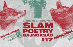 Erdélyben is elkezdõdnek a 2017-es Slam Poetry Bajnokság elõválogatói