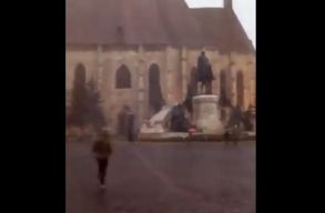 Kolozsváron is havazott hétfõ délután