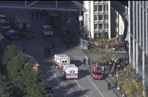 Nyolcan meghaltak egy New York-i terrortámadásban
