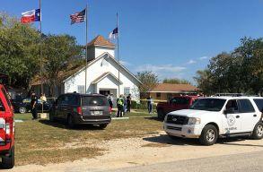 Lövöldözés volt Texas államban egy templomban. 26 halott van