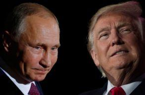 Közös nyilatkozatot adott ki Trump és Putyin Szíriával kapcsolatban