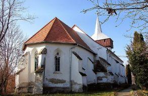 Szent Kristóf-ábrázolás lehetett a küküllõvári református templom
