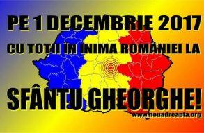 A Noua Dreaptã ismét Sepsiszentgyörgyön tervezi megünnepelni december elsejét