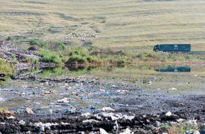 Átszakadt a szemétgát Pataréten! A mérgezõ víz a Szamos felé folyik