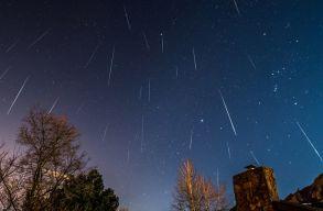 Ismét érkeznek a Geminidák, látványos decemberi csillaghullást hozva