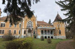 Elkezdõdtek a mezõzáhi Ugron kastély állagmegóvási munkálatai