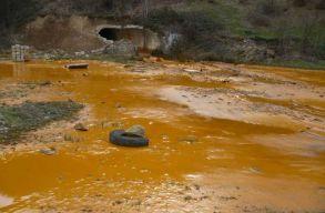 Bányavízzel szennyezõdött a Zazar folyó