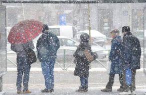 Hidegre, szeles idõre és hóra figyelmeztetnek a meteorológusok