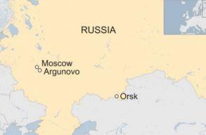 Kigyulladt és lezuhant egy orosz utasszállító, 71-en voltak rajta