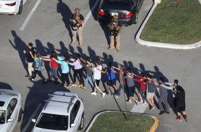 Tizenheten meghaltak egy iskolai lövöldözésben Floridában
