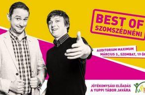 Bízunk benne, hogy már elfelejtették: a legjobbjaiból tart estet a Szomszédnéni Kolozsváron