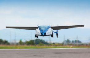 Íme a repülõ autó, amely képes több mint 300 km/h sebességgel is száguldani
