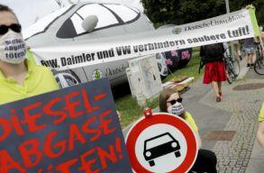 Ki lehet tiltani a régebbi dízelautókat a szennyezett levegõjû német városokból