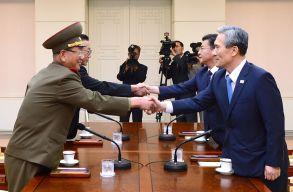 Egy kakaslépésnyit ugyan, de ismét közelebb került egymáshoz a két Korea