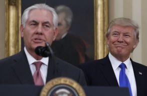 Donald Trump menesztette a külügyminisztert