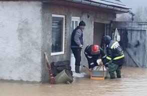 Átszakadhat az Olt folyó gátja; 300 lakos evakuálását rendelték el Köpecen