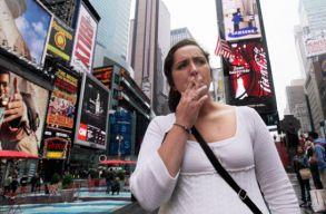 New Yorkban betiltanák a sétálás közbeni dohányzást is