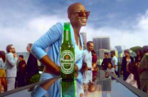 A világos néha jobb: rasszistára sikerült a Heineken legutóbbi reklámja