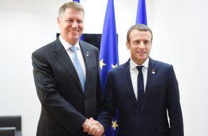 Macron elismerõen nyilatkozott Johannis tevékenységérõl