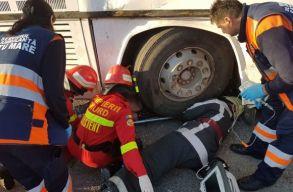 Buszbaleset történt csütörtök reggel Szatmárnémetiben
