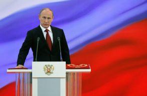 Negyedszerre teszi le ma az elnöki hivatali esküt Vlagyimir Putyin