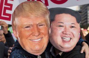 Donald Trump Szingapúrban találkozik Kim Dzsong Unnal, már a dátumot is lehet tudni