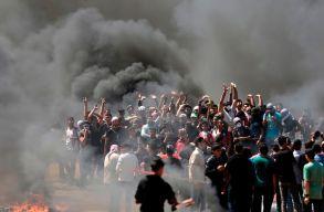 Halálos áldozatokat követelõ összecsapások vannak a Gázai övezetben