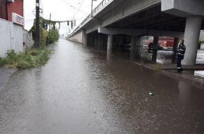 Több utcát is elöntött a víz Temesváron