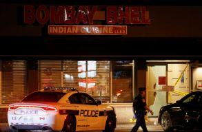 Pokolgépet robbantott két férfi egy torontói étteremben