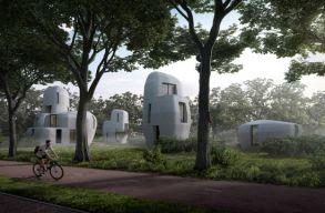 3D-s nyomtatóval építenek lakóházakat Eindhovenben