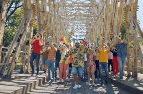 Budapesten forgatták a focivébé himnuszának klipjét