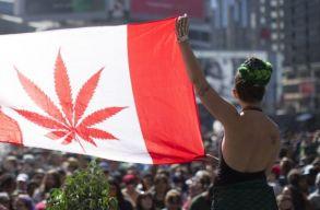Kanadában tegnap óta legális a marihuána