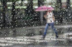 Az ország 31 megyéjében lesz rossz idõ péntek estig