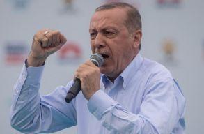 """Erdogan újraválasztása után megígérte, hogy """"felszabadítja"""" Szíriát"""