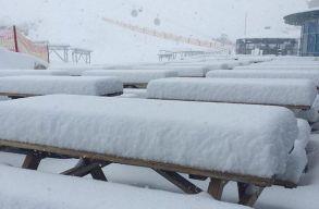 Havazott Szlovéniában, Ausztriában és Olaszországban is