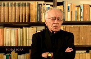 101 éves filozófus a kormányellenes tüntetések egyik arca