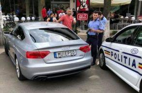 A rendõrség kéri a trágár rendszámbtáblájú sofõr elleni eljárás megszüntetését