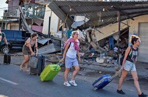 Erõs földrengés volt Indonéziában, nagyon sokan meghaltak