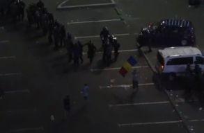 Háborús hangulat volt péntek este Bukarestben