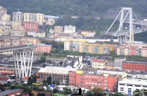 Két romániai áldozata is van az olaszországi híd ledõlésének