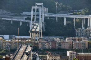 Életben van az egyik, a genovai hídomlás után halottá nyilvánított romániai áldozat