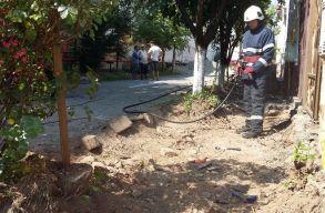 Gázszivárgás és robbanásveszély volt Szatmárnémetiben